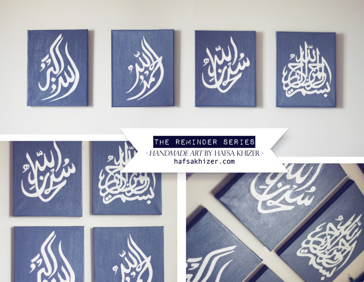 Islamic wall art islamic canvas painting set islamic