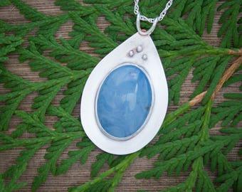 Michigan Jewelry, Leland Blue Pendant, Leland Blue necklace,