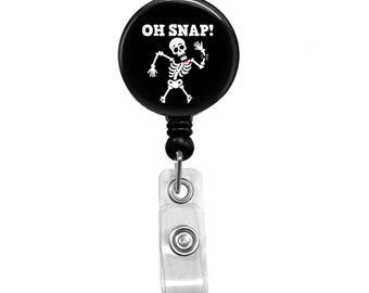 Oh Snap Retractable Badge Reel