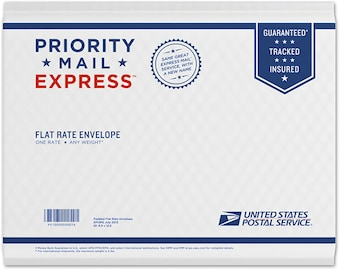 USPS Priority EXPRESS Upgrade for U.S. Domestic Packages with Overnight Delivery to most areas of the USA