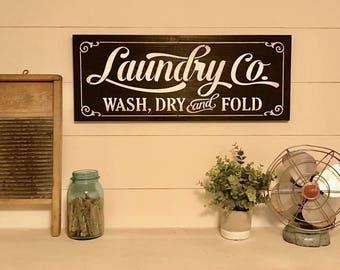 Laundry room decor Etsy