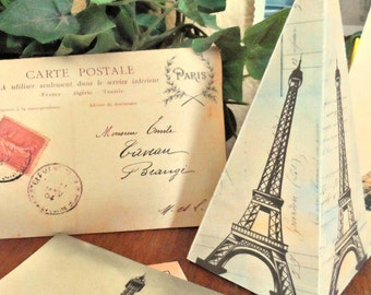 Eiffel Tower Favor Box French Parisian Instant Download Printable File