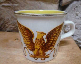 Vintage Taylor International Eagle mug USA