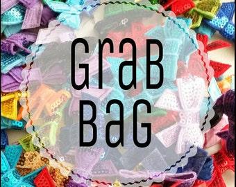40 pc Sequin Applique Grab Bag-Wholesale- 1.5 inch-1.75 inches-2 inches-2.8 inches- 3 inches