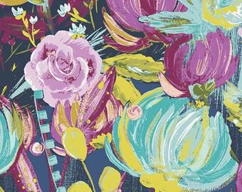 1/2 yard SAGE by Bari J for Art Gallery Fabrics Painted Desert Night