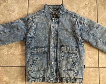 Vintage Denim Jacket Womens XL