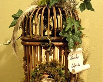 The Feather Wylde Estate Fairy House