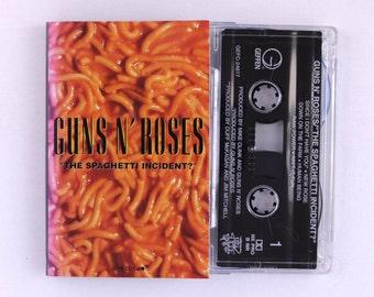 Guns N' Roses - The Spaghetti Incident Cassette Tape