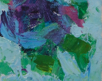 Blue Tango Original Acrylic 3x3 Inches