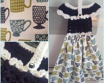 Crochet Towel Topper Dress