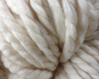 Hand spun merino silk JUMBO yarn 1kg approx 150 yards