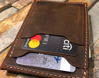 Wallet•Leather Wallet•Leather Wallet Pocket•Mens Leather Wallet Slim•Distressed Leather Wallet•Minimalist Leather•Card Sleeves• Father's Day