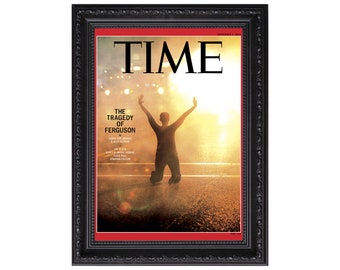 The Tragedy of Ferguson Time Magazine Sept. 2015 Issue Cover Poster or Art Print