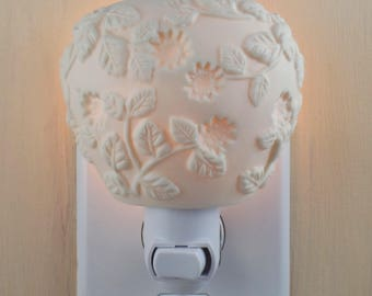 Matte Finish Ivory Votive Candleholder Custom Made Night Light