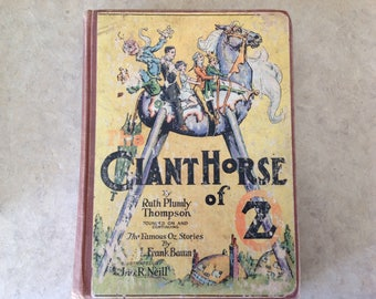 Vintage The Giant Horse of Oz 1928