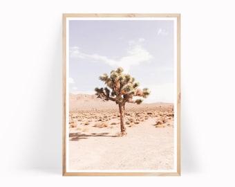 Joshua Tree Print - Desert Photography - Wilderness Print - Boho Decor
