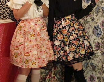 Tea party lolita skirt!