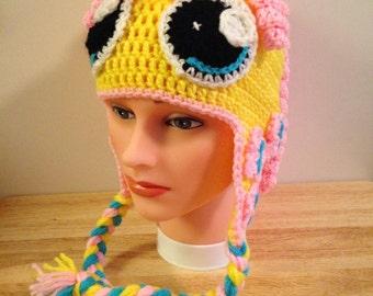 Crocheted My Little Pony Fluttershy Hat