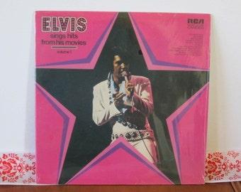 Elvis Presley Record--Elvis Sings Hits from his Movies , 1972 CAS-2567