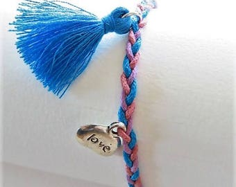 Braided bracelet 17545