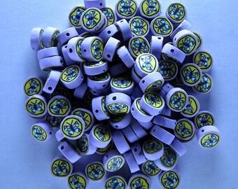 100 Polyclay Butterfly Beads - Destash Sale