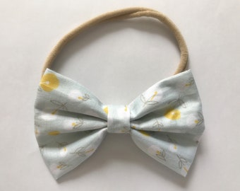 Spring Collection- Yellow/white Floral