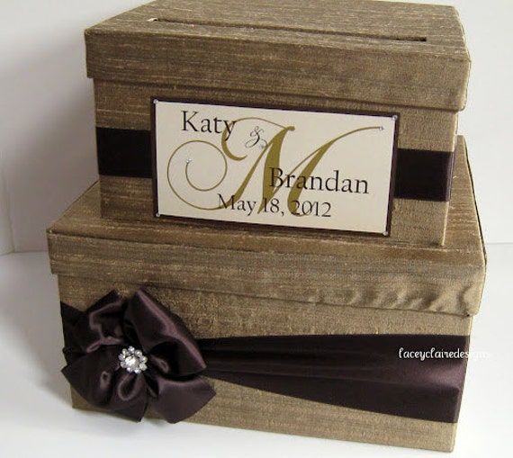 Gift Card Box For Wedding Reception: Items Similar To Wedding Card Box, Gift Card Box, Money