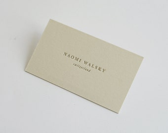 Double sided letterpress business cards etsy 150 double sided custom letterpress business cards colourmoves