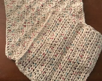 Set of two homemade dishcloths
