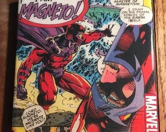 Magneto Comic Drink Coaster