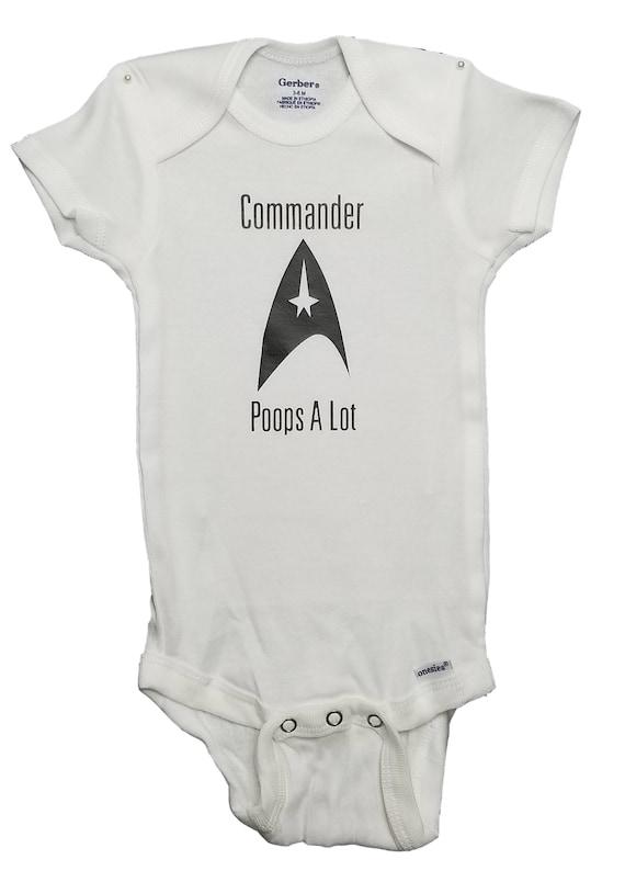 Star Trek Logo Emblem Commander Comedy Onesie Or T Shirt 2t 3t