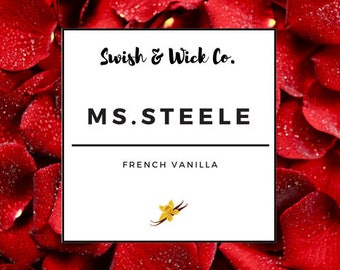 Ms. Steele| 9 oz | Fifty Shades Inspired Soy Scented Candle