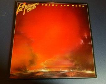 On Sale! Pat Travers Band Crash and Burn Vinyl Record Polydor Records 1980