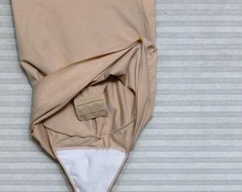 nude control top panties skirt  size small