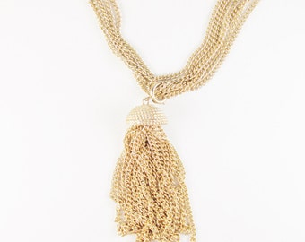 Vintage Sarah Coventry Necklace with Tassel