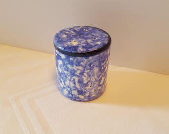 Stangl Blue Town & Country Salt Shaker #5287
