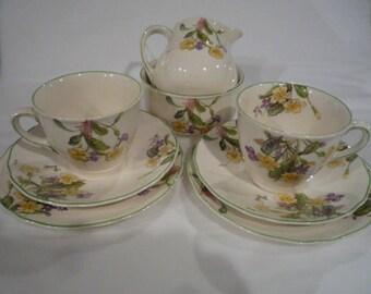 Royal Doulton, Tate a Tate, Tea for two, Couples set.