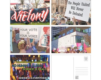 Resistance Postcards-to-Voters 20-Pack - 5 Designs