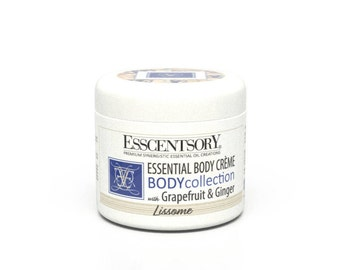 LISSOME Essential Body Crème | Personal Fragrance | Grapefruit & Ginger | Aromatherapy