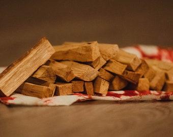Palo Santo Wood - 25 sticks (Burning Incense Sticks)