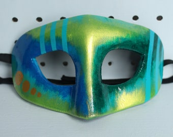 Hand painted EVA foam abstract mask