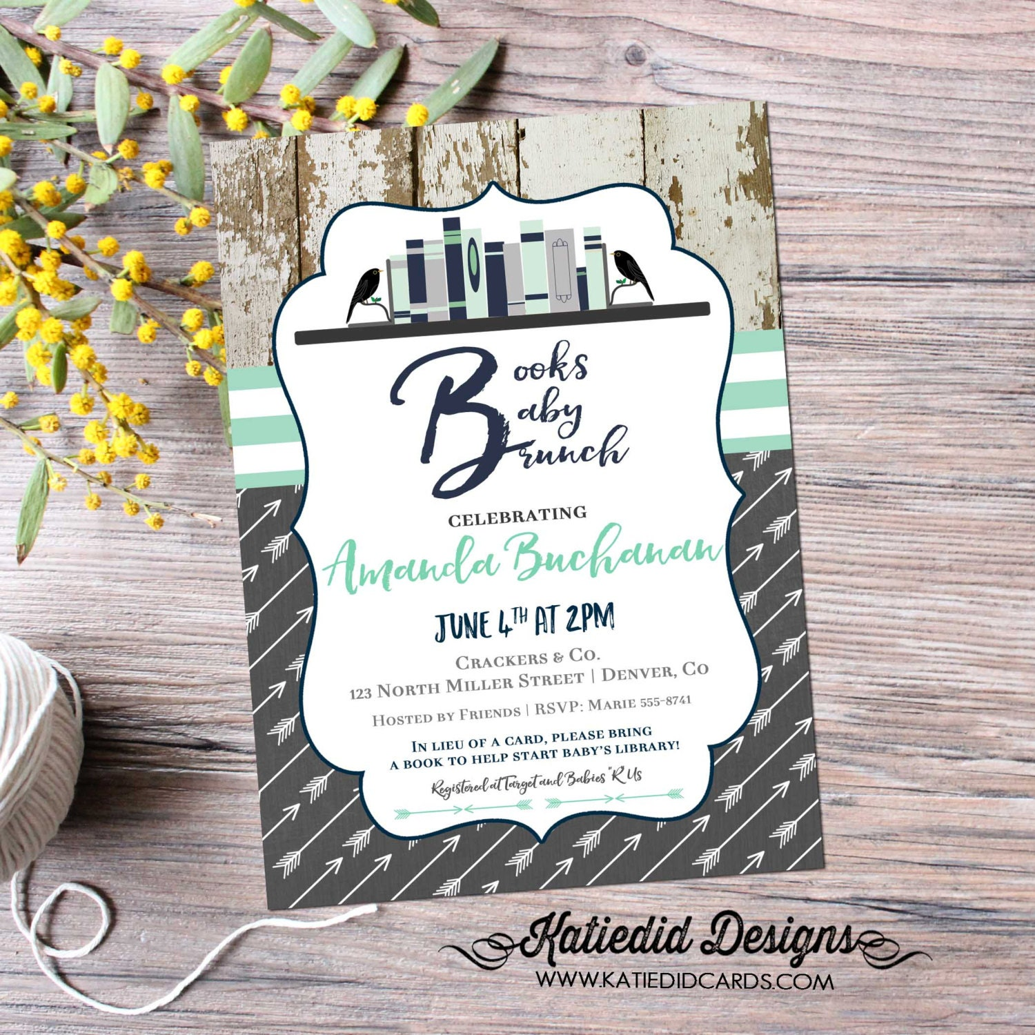 once upon a time baby shower invitation storybook gender reveal ...