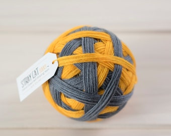 TALLULAH - vibrant hand dyed self striping sock yarn