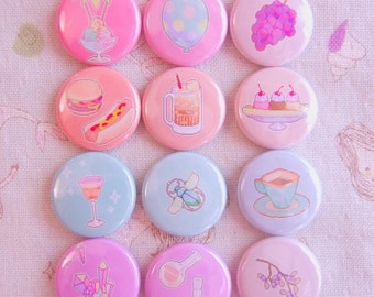 bitmapdreams itty bitty badges - full set of 12