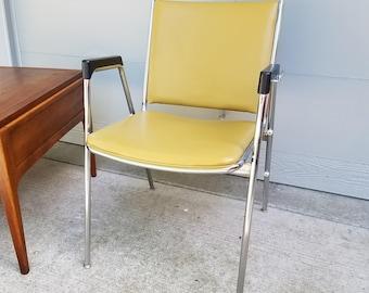Chromcraft mid century modern chair