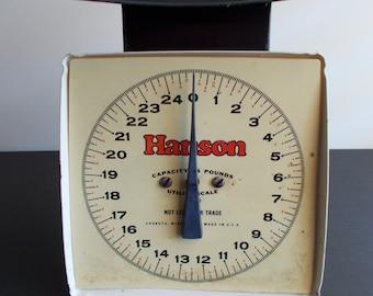 Antique 1940's Hanson Scale 25 lb Capacity -