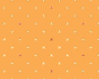 Asterisk Fabric   - Boardwalk Delight by Dana Willard for Art Gallery - Twinkle Lights - Fabric By the Half Yard