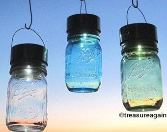 DIY Solar Light for Mason Jar Outdoor Lighting