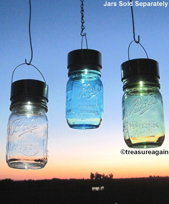 Diy solar light for mason jar outdoor lighting aloadofball Image collections