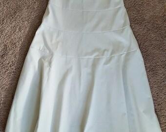 Ladies Flared Twill Skirt